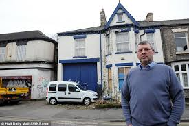 haunted house in hull searched by police after u0027children u0027s shadows