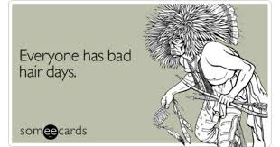 sympathy ecards everyone has bad hair days sympathy ecard