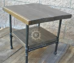 amazon com steampunk table industrial nightstand industrial