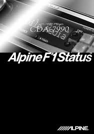 alpine cd player cda 7990 pdf user u0027s manual free download u0026 preview