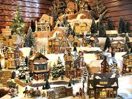 17 stunning christmas village miniature my visual home u2026 pinteres u2026