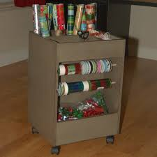 Paper Organizer For Wall Decorating Very Cozy Wrapping Paper Storage With Wooden Floor And