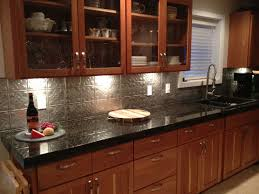 Metal Kitchen Backsplash Tiles - Metal kitchen backsplash