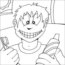dental coloring pages 3 free clip art coloring pages 3712