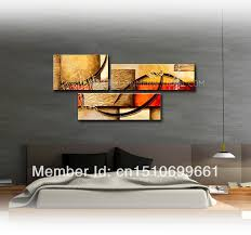 wall art hand painted frameless oil painting on canvas decorative