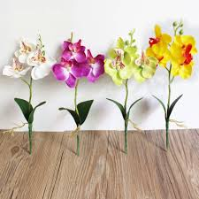 Home Decor Flower Arrangements Compare Prices On Flower Arrangement Orchid Online Shopping Buy