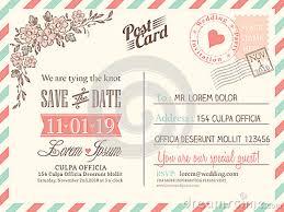 Wedding Postcards Postcard Invitations Templates Pacq Co
