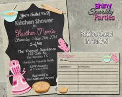kitchen shower ideas kitchen shower etsy