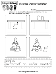 free kindergarten holiday worksheets printable and online