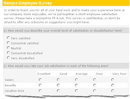 sample employee survey easy effective insightful ennect survey