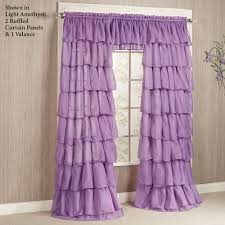 Lavender Bathroom Ideas Bathroom Melanie White Ruffle Curtains For Bathroom Decoration Ideas