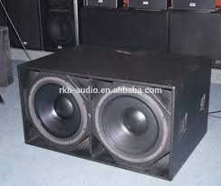 18 inch subwoofer home theater 100mm 4inch coil 1200w dj bass speaker 18 inch subwoofer box
