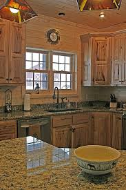 kitchen alluring rustic walnut kitchen cabinets and 9