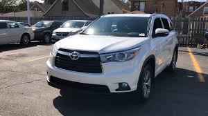 suv toyota 2015 used one owner 2015 toyota highlander xle chicago il south
