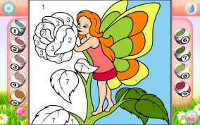 fairy coloring book android apps google play