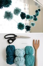 25 DIY Yarn Crafts Tutorials & Ideas for Your Home Decoration 2017