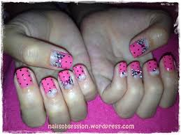 somethings about nail art rhinestone the pink u0026 red cny u2013 final nails obsession
