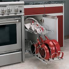 Kitchen Cabinet Pot Organizer Kitchen Cabinet Pot Organizer Photo U2013 11 U2013 Kitchen Ideas