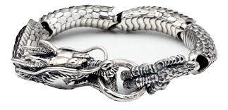 dragon bracelet silver images Articulate modern silver dragon bracelet for men pilaeo png