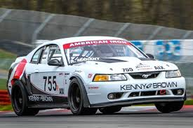 kenny brown mustang road race mustang testing max performance battery