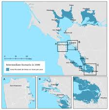 Map Of San Francisco Area by The San Francisco Bay Area Faces Sea Level Rise And Chronic