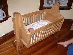 Free Woodworking Plans For Baby Cradle by Mission Style Cradle Jpg