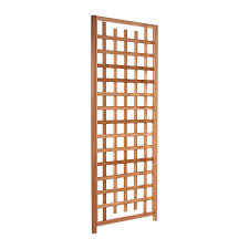 Arbors Trellises Shop All Things Cedar 33 In W X 84 In H Natural Utilitarian Garden