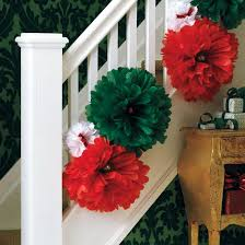 Banisters Flowers 100 Awesome Christmas Stairs Decoration Ideas Digsdigs