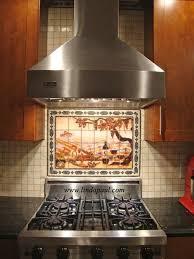 backsplash medallions kitchen kitchen backsplash murals mosaic medallions and accent tiles