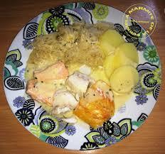 comment cuisiner la choucroute crue choucroute de la mer légère ww thermomix la marmite de la ferme