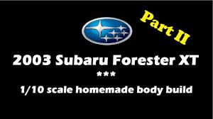 subaru rally logo subaru forester xt 2003 homemade 1 10 scale body build part 2