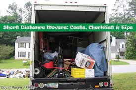 Estimate Moving Costs Distance by Distance Movers Costs Checklist Tips