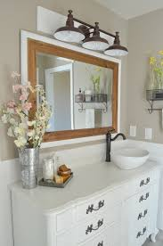 Farm Style Bathroom Vanities by The Transformation Of Our Fixer Upper Part 2