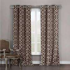 Duck River Window Curtains Duck River Blackout Harris 84 In L Grommet Panel In Chocolate 2