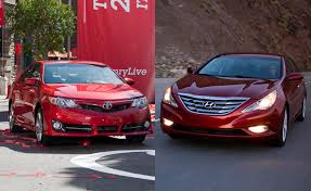 hyundai elantra vs sonata 2013 2012 toyota camry vs 2012 hyundai sonata car reviews