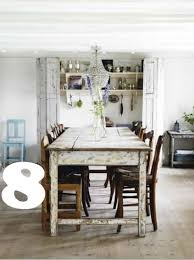 rustic white dining table 14 fabulous rustic chic dining tables