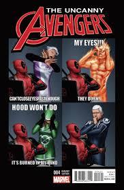 Deadpool Memes - image uncanny avengers vol 3 4 deadpool variant jpg marvel