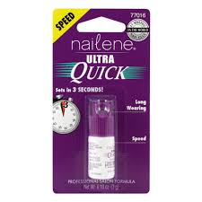 buy ultra quick nail glue 3 g by nailene online priceline