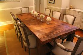 making a dining room table how to make a kitchen table out of barn wood trendyexaminer
