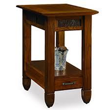 rustic wedge end table slatestone oak chairside end table rustic finis on rustic rough cut