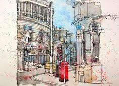 urban sketchers lynne chapman travel sketch urban sketchers