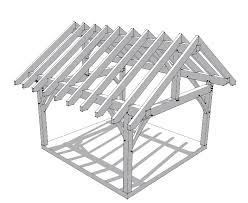 a frame roof 16x16 timber frame plan timber frame hq