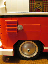 lego volkswagen inside lego review volkswagen t1 camper van reviews of unusual size