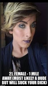 Transvestite Meme - tranny imgflip