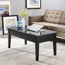 Coffee Table With Lift Top And Storage Dorel Faux Marble Lift Top Coffee Table Multiple Colors