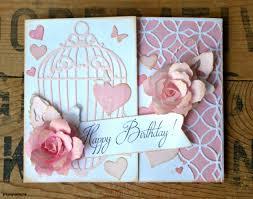 elegant birthday card create easy make birthday card hp free