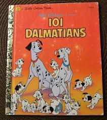 vintage children u0027s book 101 dalmatians golden book