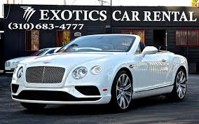 bentley continental gt car rental los angeles luxury exotic car rental white bentley gt convertible