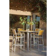 terrace bar height dining sets outdoor bar furniture the