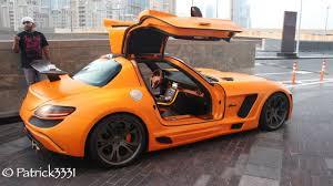 mercedes amg orange fab design gullstream sls amg mercedes in bright orange at